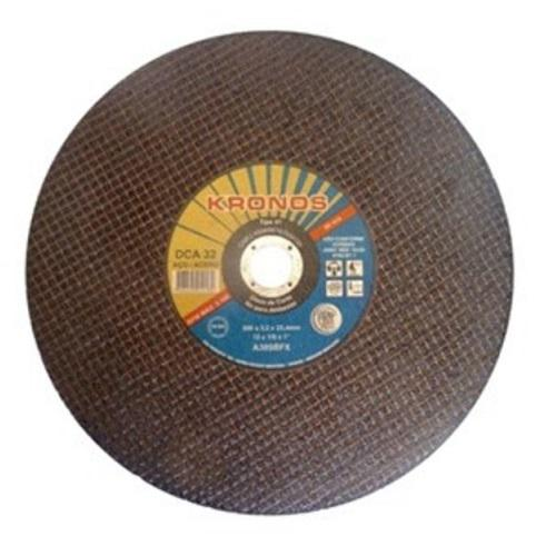"""Disco de Corte para Aço Kronos DCA 32 14"""" x 1/8"""" x 1"""""""