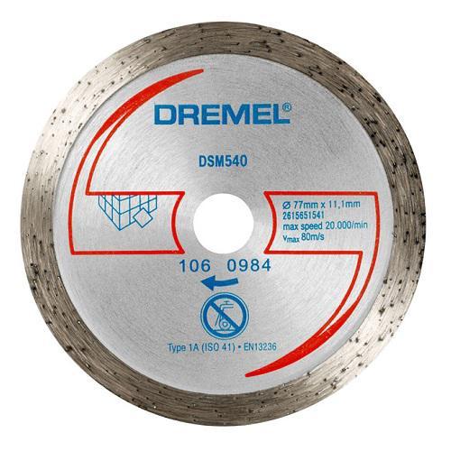 Disco SAW MAX Azulejo Dremel DSM540