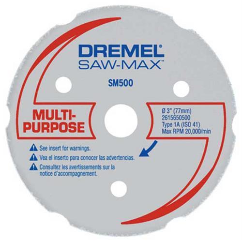 Disco SAW MAX Multiuso Dremel DSM500