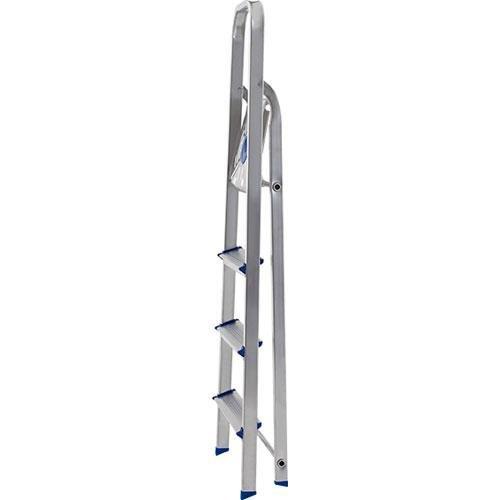 Escada de Alumínio 4 Degraus Mor Uso Doméstico
