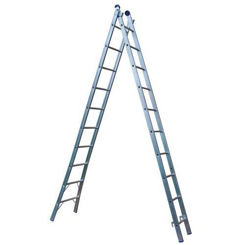 Escada Extensível 2 x 10 Mor Uso Profissional