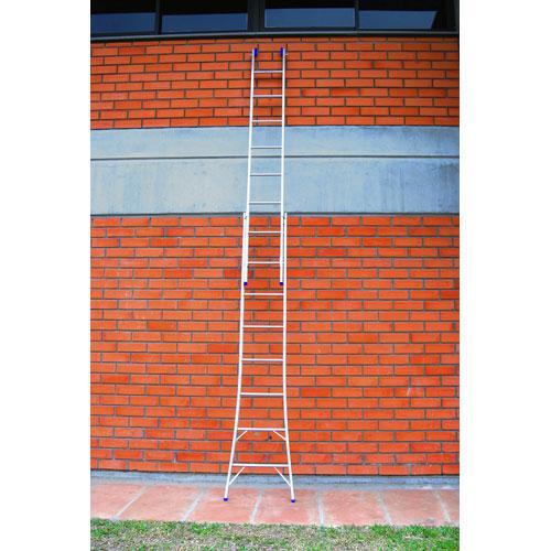 Escada Extensível 2 x 8 Mor Uso Profissional