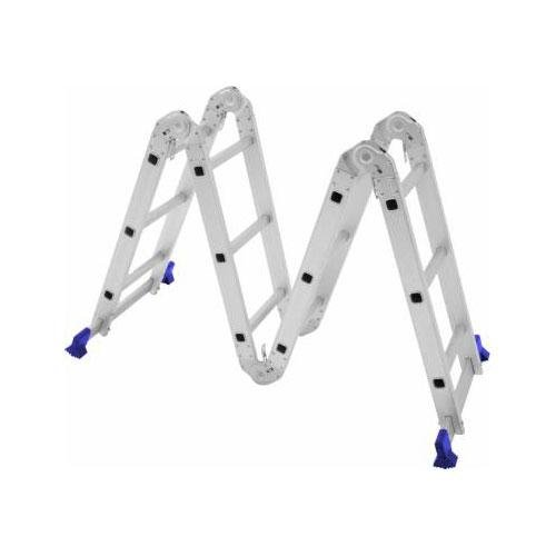 Escada Multifuncional 4 x 3 12 Degraus Mor Uso Profissional