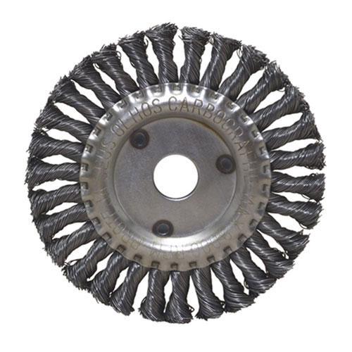 """Escova de Aço Circular Trançada Carbografite 4.1/2"""" x 1/2"""" x 7/8"""""""