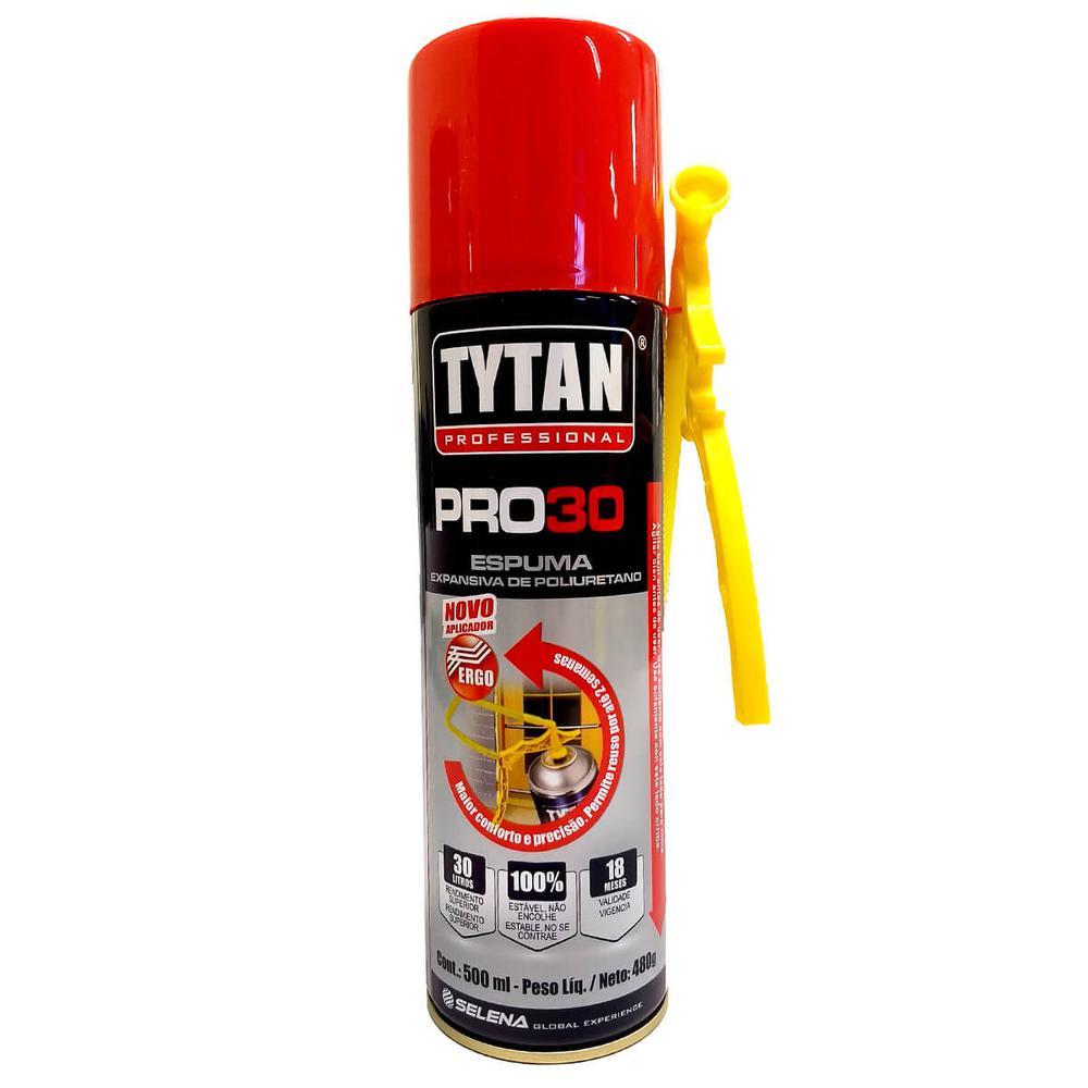Espuma Expansiva Tytan PRO30 500ML / 480G
