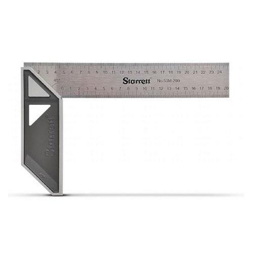 Esquadro Aluminio Starrett 25cm