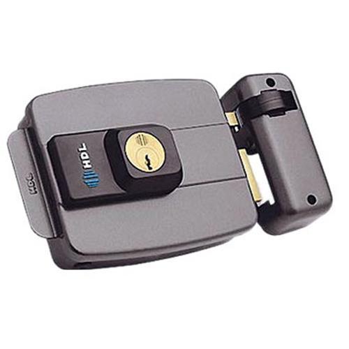 Fechadura Elétrica Dupla Cinza C-90 HDL