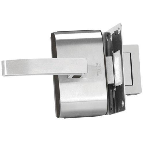 Fechadura Elétrica Porta de Vidro 1 Folha Recorte HDL PV90 1R-L