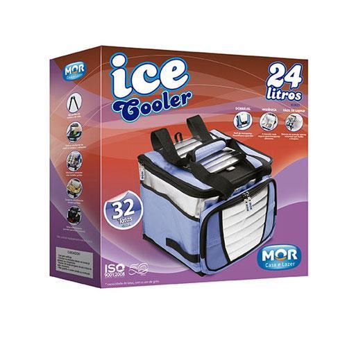 Ice Cooler 24 Litros com 1 Divisória Mor
