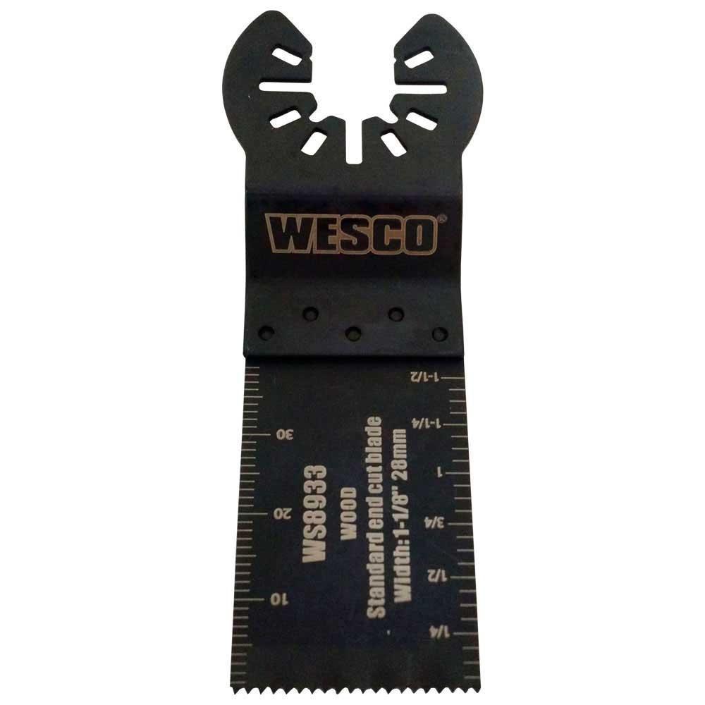 """Lâmina para Corte de Imersão WS8933 1.1/8"""" para Multiferramenta Wesco"""