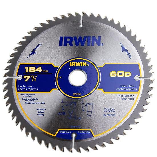 """Lâmina para Serra Circular 7.1/4"""" Irwin 36 Dentes"""