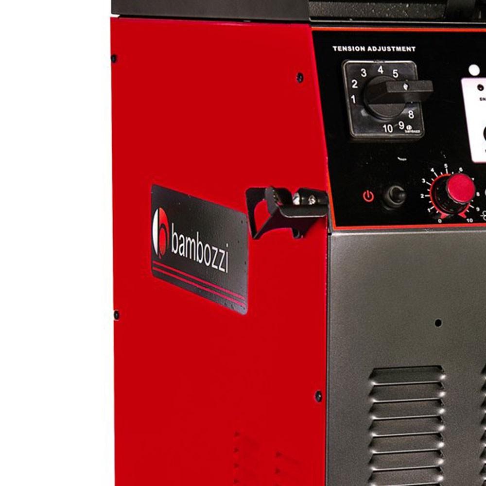 Máquina de Solda MIG Mega Plus 350 DF II 300A Trifásica com Cabeçote Interno - BAMBOZZI-20529070128