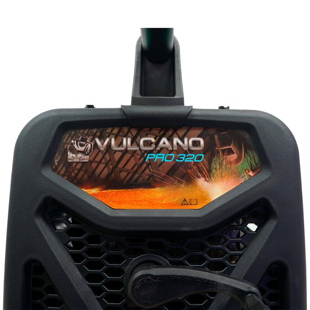 Máquina de Solda Transformador Vulcano PRO320 Balmer Bivolt