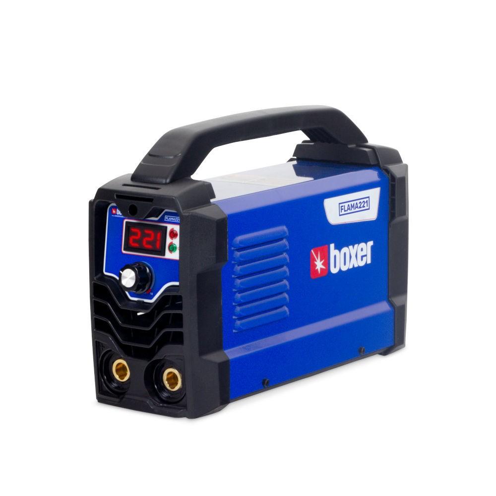 Máquina Inversora de Solda Tig 220A com Display Digital - BOXER-FLAMA221