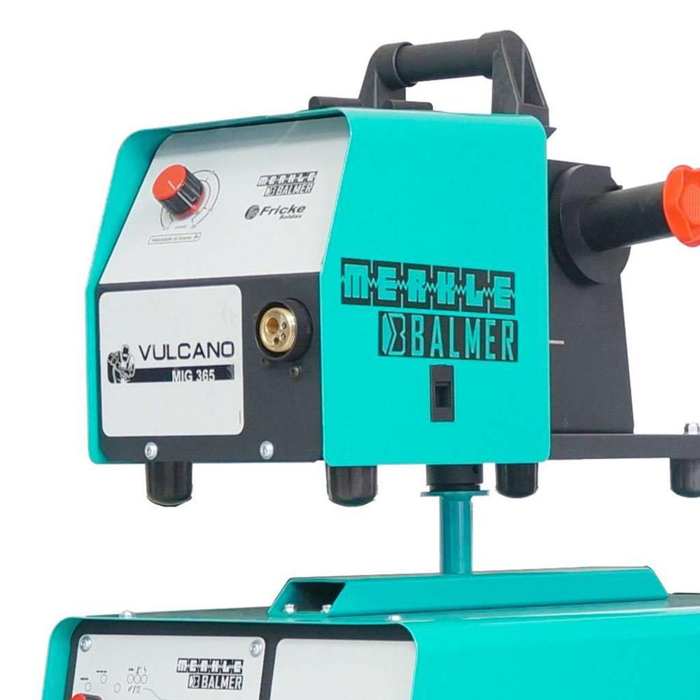 Máquina Solda Mig Vulcano 365 Balmer 360 Amperes Trifásico