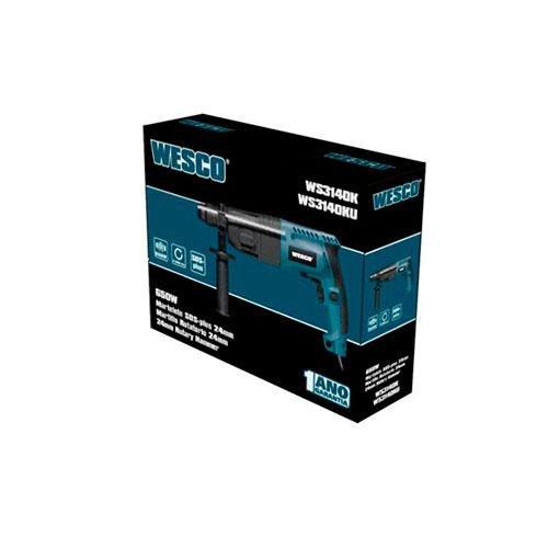 Martelete SDS Plus 650w Wesco WS3140K