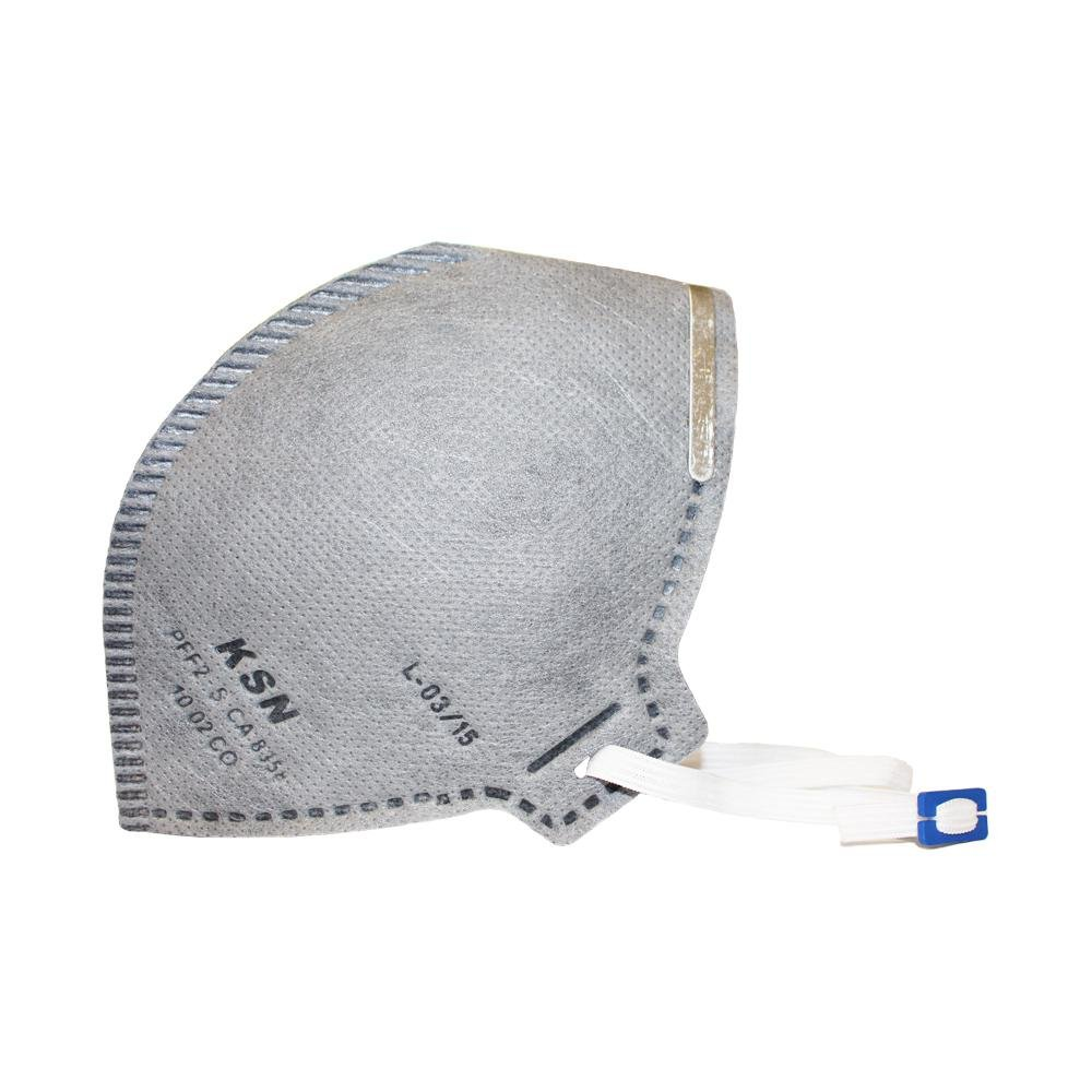Máscara Descartável Carvão Ativado PFF2 KSN