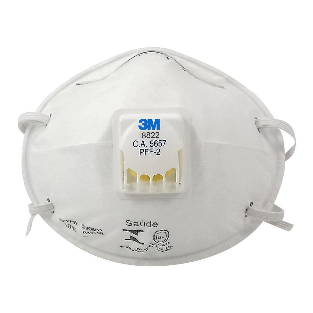 Máscara para Poeiras com Válvula PPF2 Concha 3M