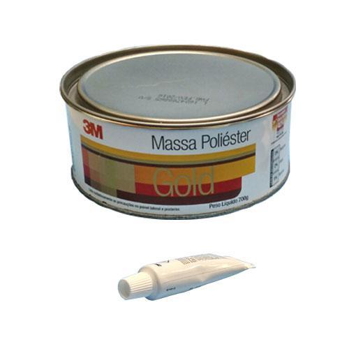 Massa Plastica Poliester 3M 700g