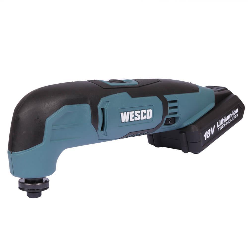Multiferramenta Oscilante à Bateria 18 V Wesco WS2932