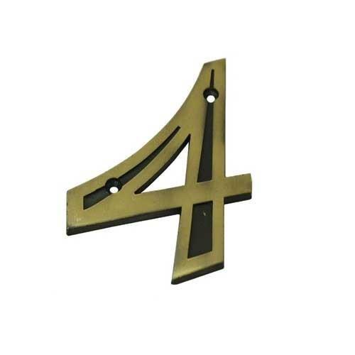Número Residencial 4