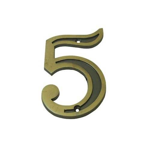 Número Residencial 5