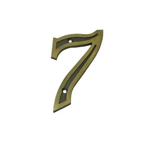 Número Residencial 7