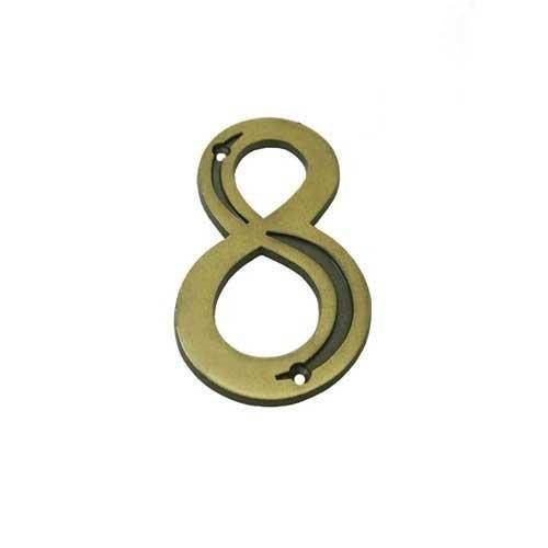 Número Residencial 8