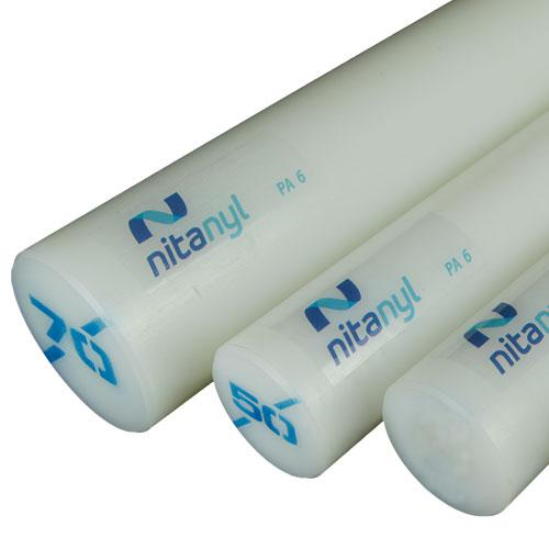 Nylon em Barra Nitaplast Nitanyl PA6 13mm