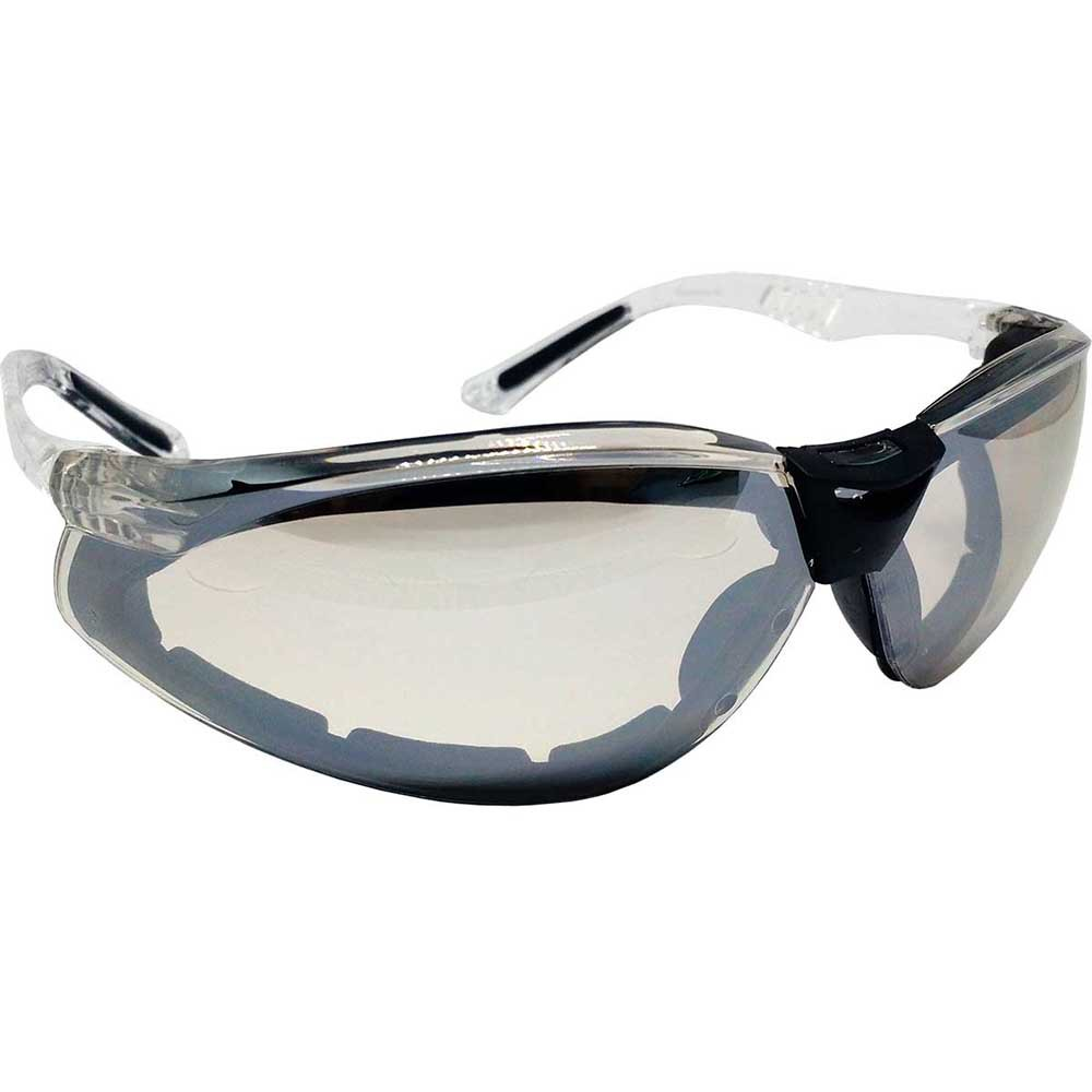 Óculos de Proteção Cayman F Carbografite Incolor Espelhado