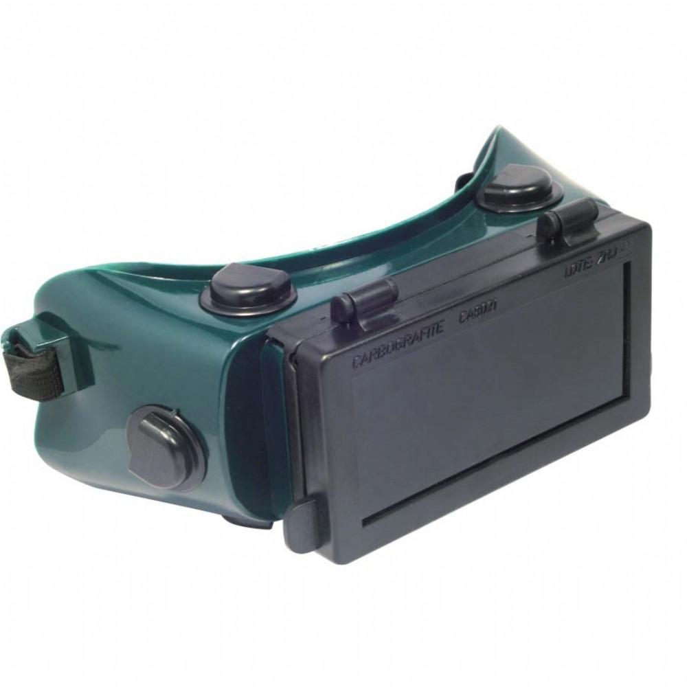 Óculos Solda Retangular c/Visor Carbografite CG 500