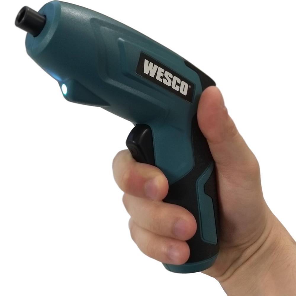 """Parafusadeira 1/4"""" à Bateria 3,6v Wesco WS2012.M"""