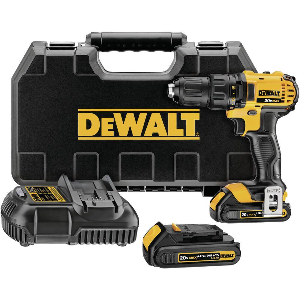 Parafusadeira e Furadeira 1/2 Pol à Bateria 20v Dewalt DCD780C2