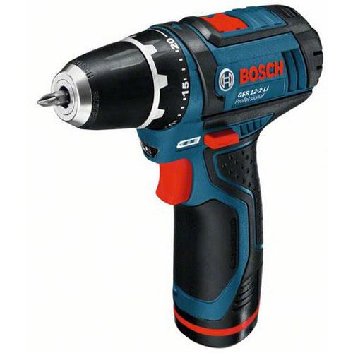 """Parafusadeira e Furadeira à bateria 3/8"""" 12V Bosch GSR 12-2-LI"""