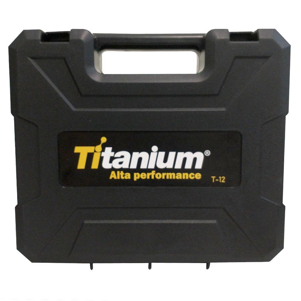 Parafusadeira e Furadeira Bateria 1,3AH 12V Bivolt - Titanium