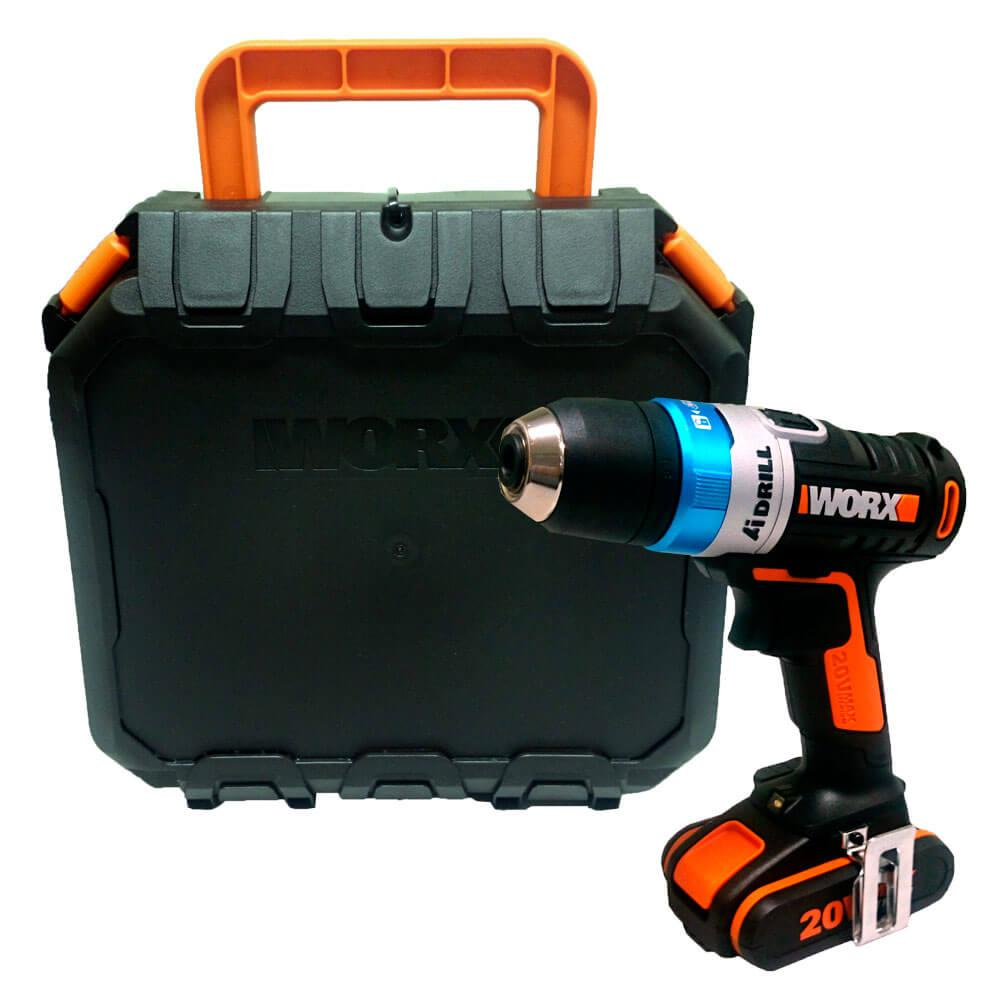 Parafusadeira Furadeira à bateria AIDrill Wx178 Worx