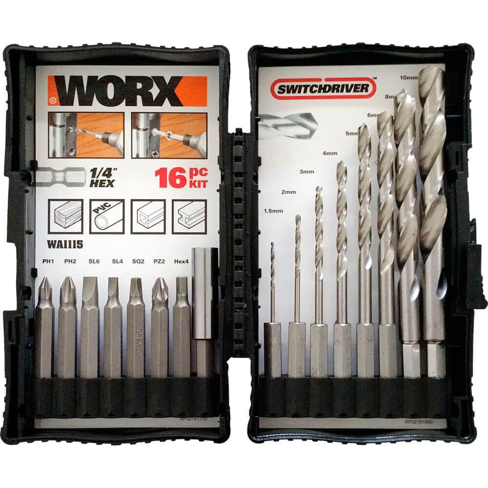 Parafusadeira Furadeira Cabeçote Duplo 20v Sem Bateria Wx176.9 Worx