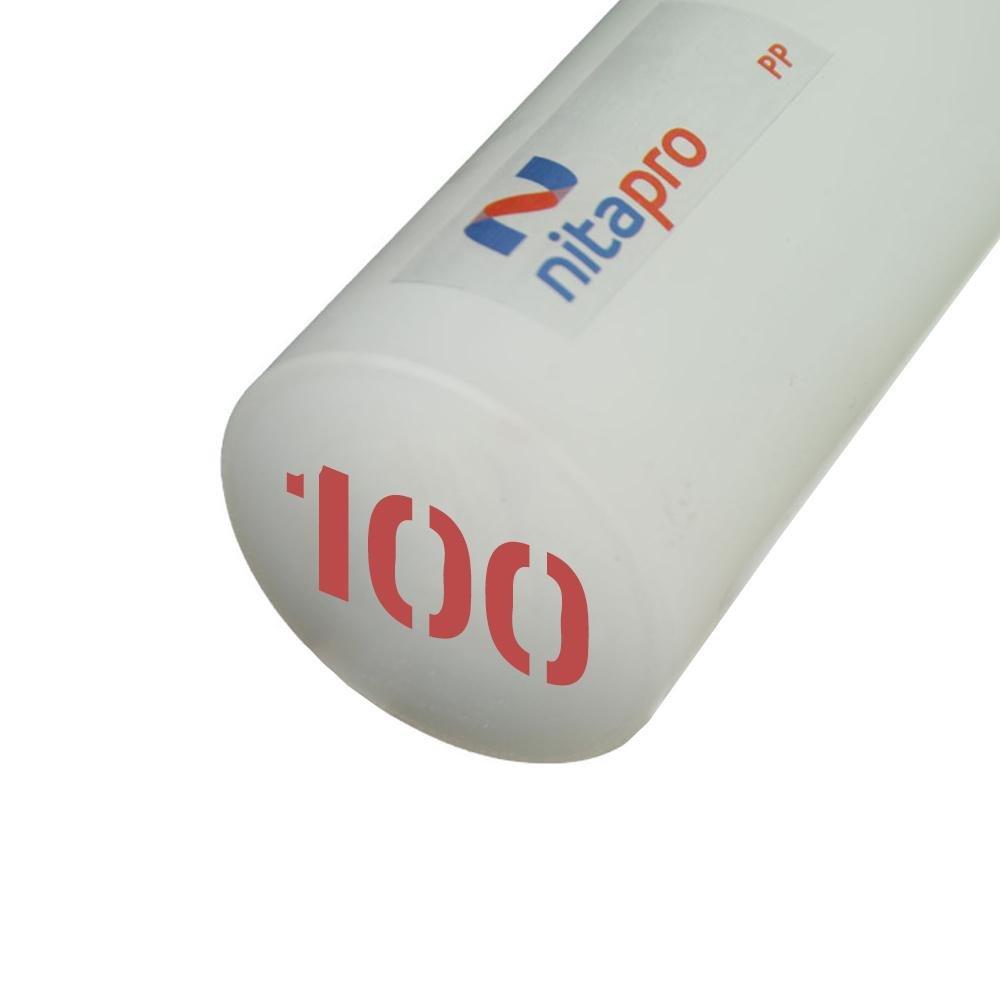 Polipropileno em Barra Nitaplast Nitapro PP 100mm