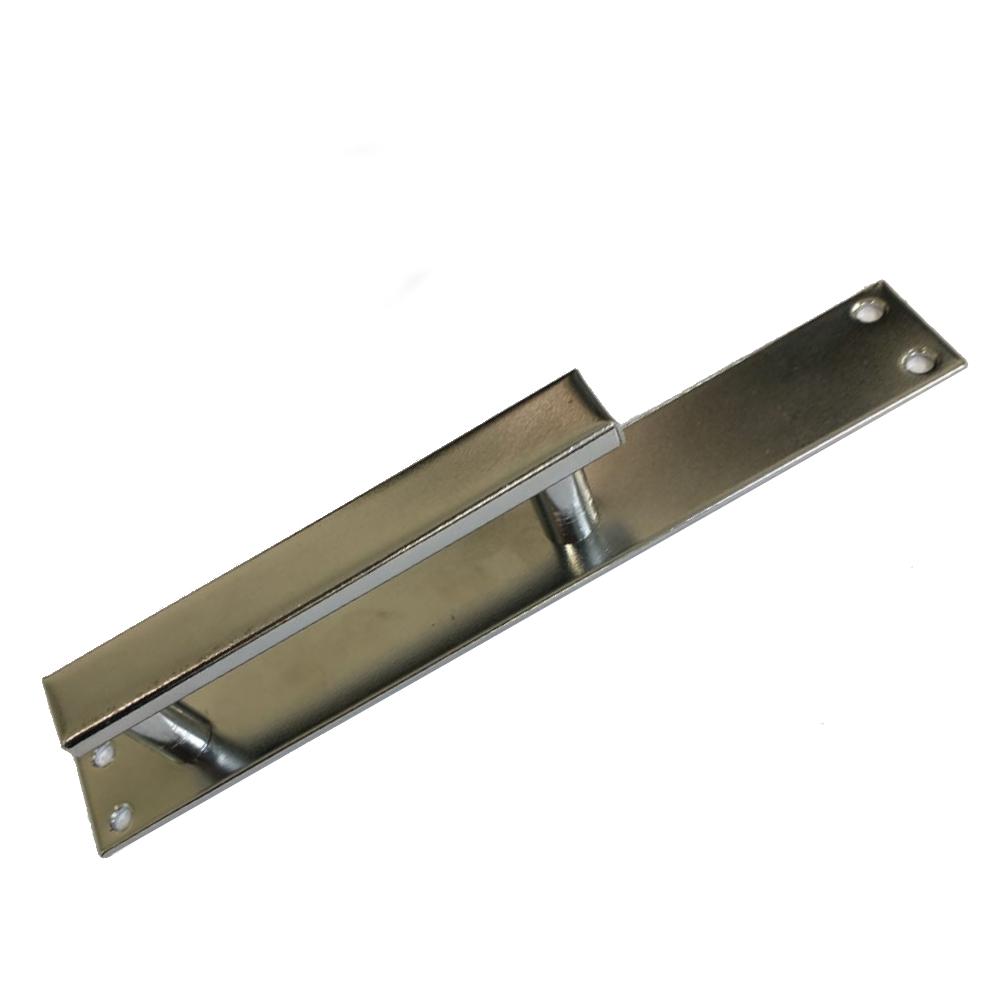 Puxador de Porta 216 sem Furo Galvanizado Prensal
