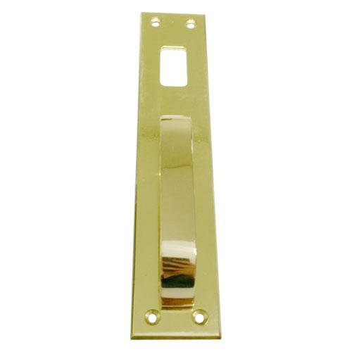 Puxador de Porta 735 com Furo Dourada Imab