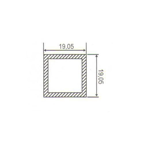 Puxador Duplo para Porta Pauma Alumínio Acetinado 294 50cm