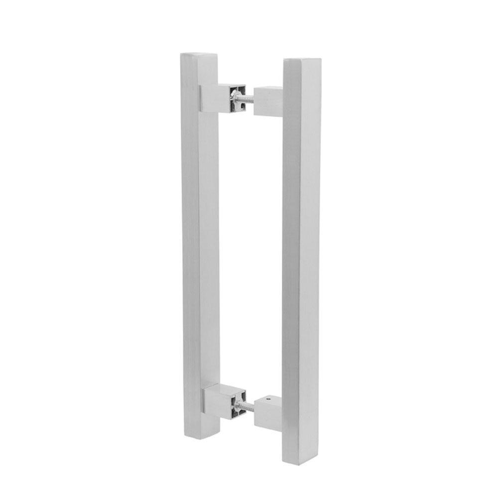 Puxador Duplo para Porta Pauma Alumínio Acetinado 294 80cm
