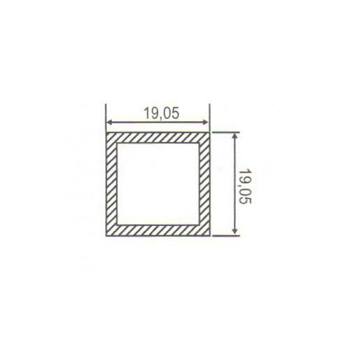 Puxador Duplo para Porta Pauma Alumínio Cromado 294 40cm