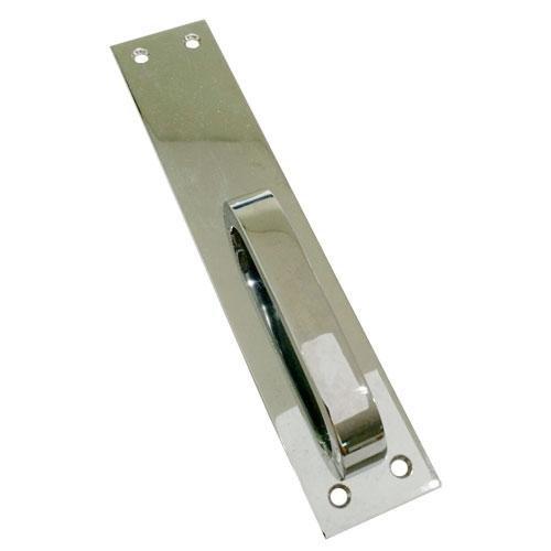 Puxador Para Porta de Correr 735 Cromado 200 x 40mm Sem Furo Imab