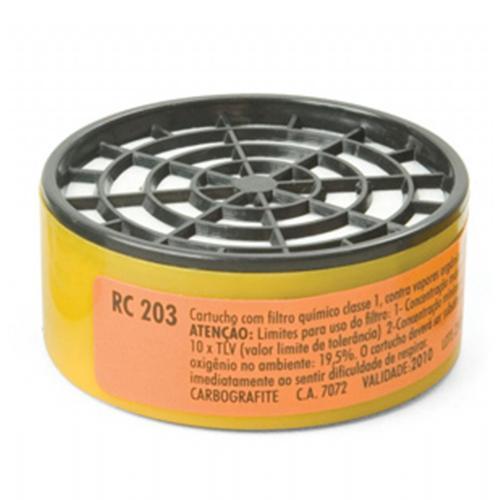 Refil para Máscara Respiradora CG 306 Carbografite RC 203