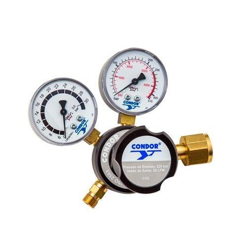 Regulador de Pressão Condor CO2 MD G-30
