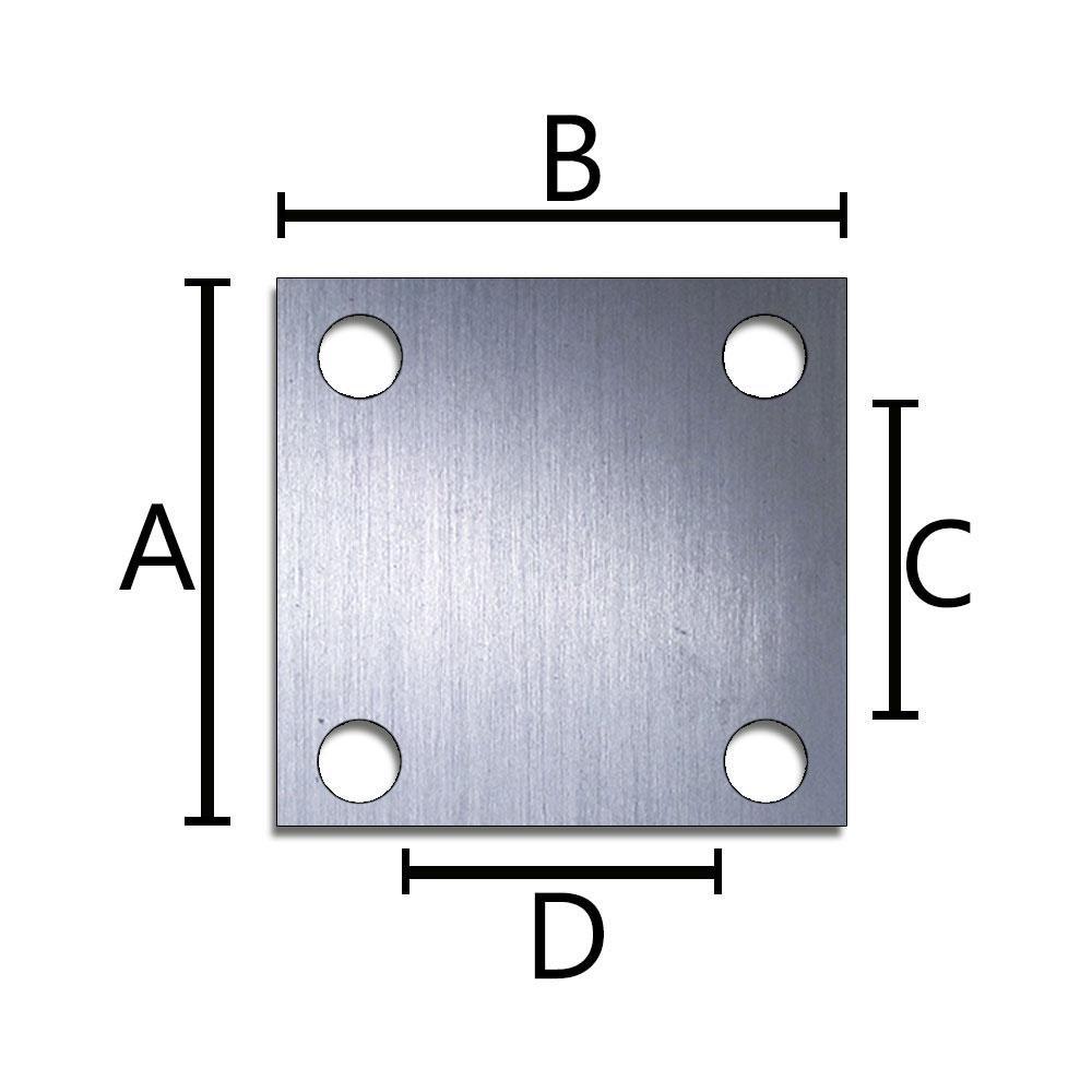 Rodizio Giratório Cinza PVC Placa com Freio Schioppa 5 Pol 75 Kg