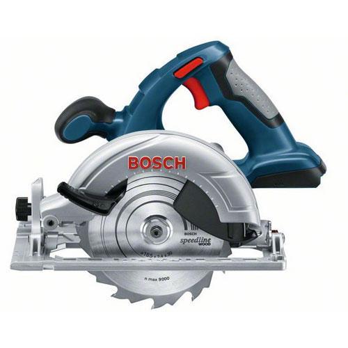 """Serra Circular 6.1/2"""" sem Bateria e Carregador Bosch GKS 18V-LI"""