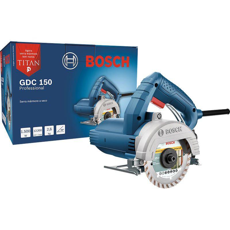 Serra Mármore Bosch GDC 150  Titan 1.500w