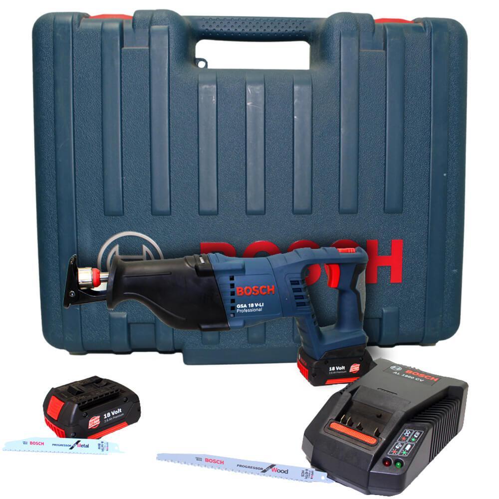 Serra Sabre à Bateria 18V Bosch GSA 18 V-LI